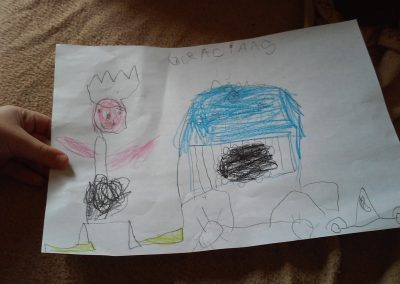 Adrián, 5 años
