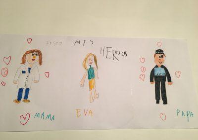 Eva, 4 años