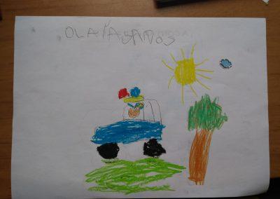 Olaia, 5 años