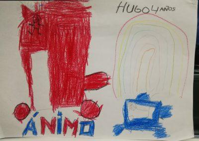 Hugo, 4 años