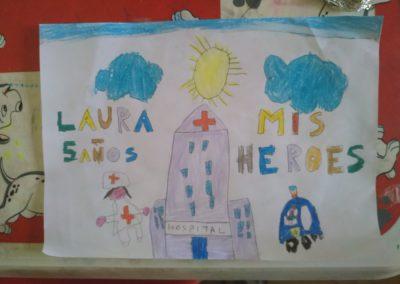 Laura, 5 años